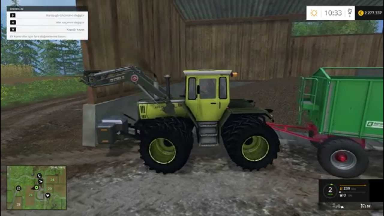 Farming Simulator 2015 MB Trac 1800 Intercooler Tractor Mod