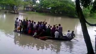 Funny Boat Accident Bangladesh