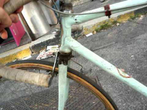 bicicletta d epoca giovanni rossignoli  bianchi 1927