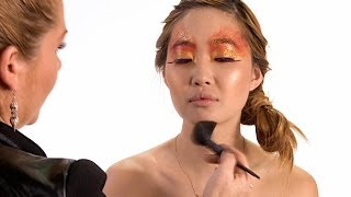 "Hunger Games Inspired Makeup - Katniss Everdeen ""Girl On Fire"" Thumbnail"