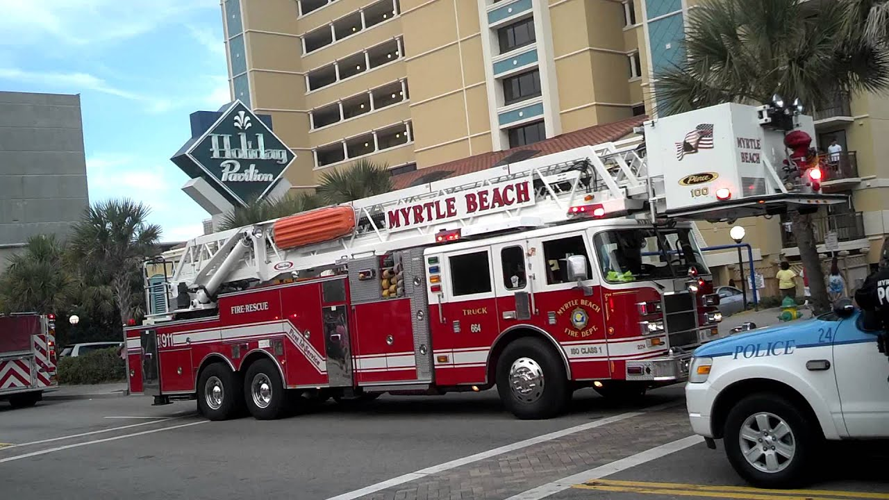Myrtle Beach Sc Fire Department Youtube