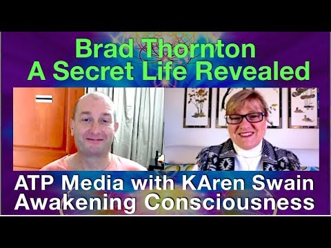 ET & UFO Contact, MILAB Programs & Soul Contracts; Brad Thornton