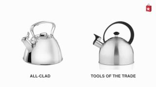 All-Clad Stainless Steel Tea Kettle Comparison Video