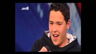 Giorgos Ioannou (14 years old). Greece Got Talent TV-show