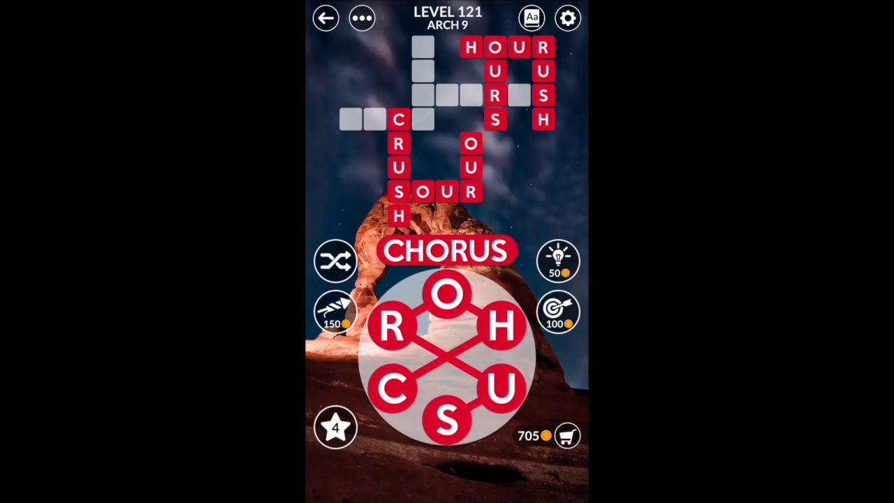 SOLVED Wordscapes Answers - (CANYON - Arch) Level 1-16 ...