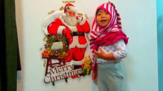 【こなつ☆3歳】 サンタさんと我が家のコビトさん^m^