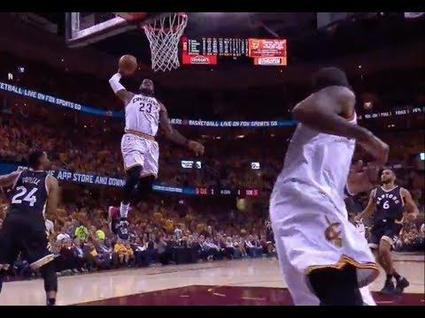 LeBron James 2017 Playoffs Dunk Compilation (All 33 dunks)