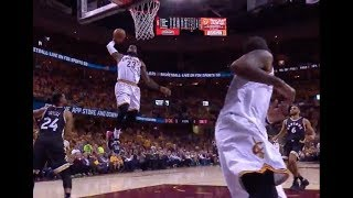 LeBron James 2017 Playoffs Dunk Compilation (All 33 dunks)