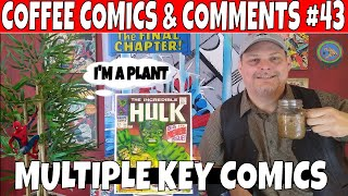 Coffee Comics & Comments #43 HULK, X-MEN, IRON MAN and other Key Comic books to buy. Comic hauls