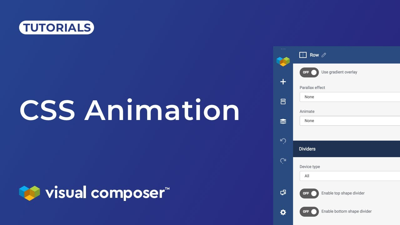 CSS Animation - Visual Composer Website Builder