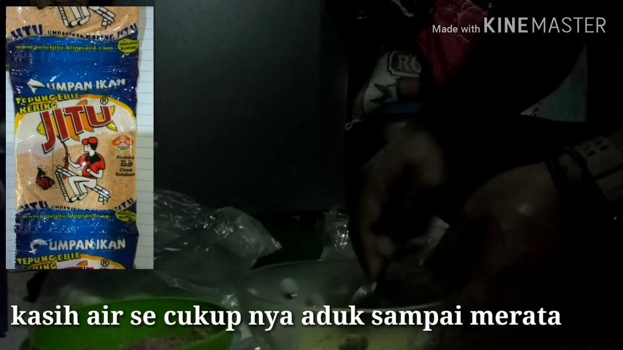 Mancing Ikan Mas Pake Pelet Jitu Ebi Ajib Youtube