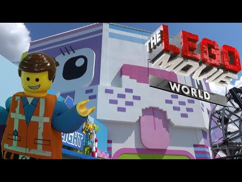 LEGO Movie World at LEGOLAND Florida Exclusive Look with The Legend
