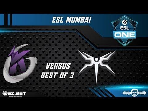 Keen Gaming vs Mineski | ESL Mumbai | Group Stage | Best of 3