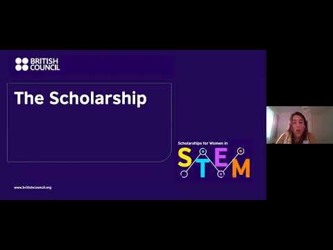 Webinar: British Council scholarships for women in STEM