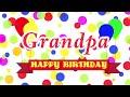 Happy Birthday Grandpa Song