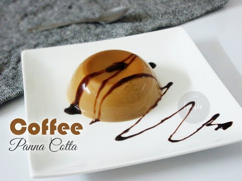 Coffee Panna Cotta | Italian dessert Coffee Panna Cotta Recipe