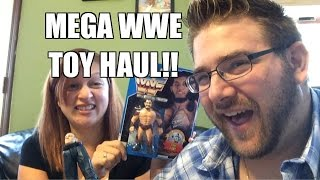 MEGA WWE FIGURE Fan Mail HAUL! Grim