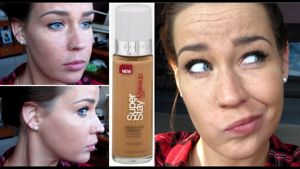 FIRST IMPRESSION: Maybelline SuperStay 24HR Makeup - YouTube