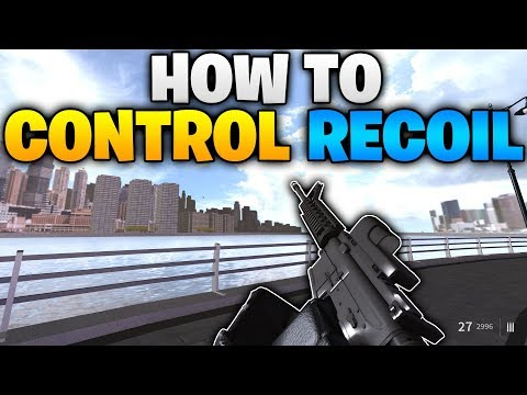 HOW TO CONTROL RECOIL in Operation Scorpion