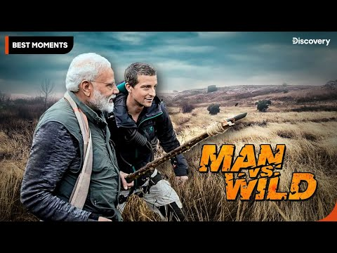 Exclusive Sneak Peek| Man VS Wild with Bear Grylls and PM Mo