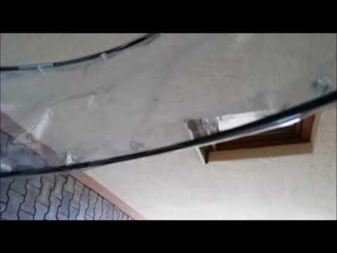 Fahrrad Dach Regenschutz für unter 100 Euro selbst bauen DIY