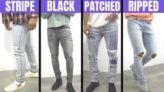 8 Most Popular Denim Trends For Men