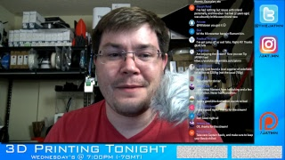 3D Printing Tonight #020 - Youtubers storm #MFBA17, 3DHubs Q2 Trends, Aniwaa's list update