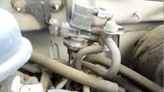 1999 Dodge Dakota 3.9L Magnum SLT EVAP Control Solenoid Valve Location
