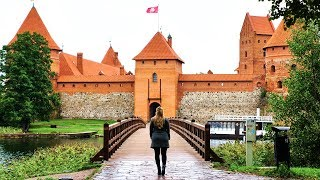 LITHUANIA - Trakai Island Castle Tour - Lithuania Travel Vlog #425