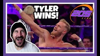 😲 Reaction   TYLER BATE WINS!!!   WWE 205 Live London May 15, 2018