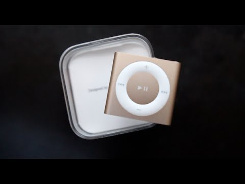 Apple iPod Shuffle (2015) Gold Unboxing & Hands On