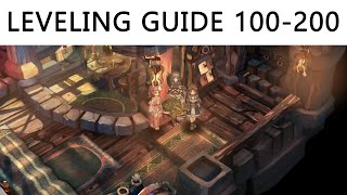 Tree of Savior - Leveling Guide 100-200, Missions, Dungeons, Dullahan & Grinding Spots ~!