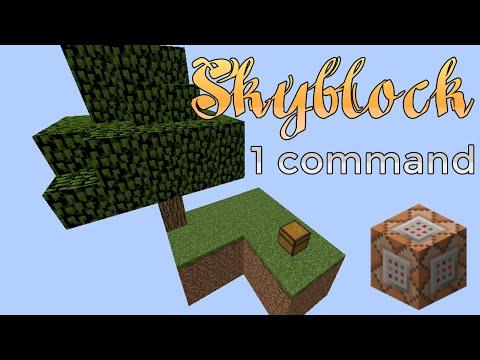 Minecraft - Skyblock in a commandKaynak: YouTube · Süre: 2 dakika