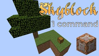 Minecraft - Skyblock in a command