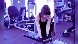 Alia Bhatt Hot Workout In Gym