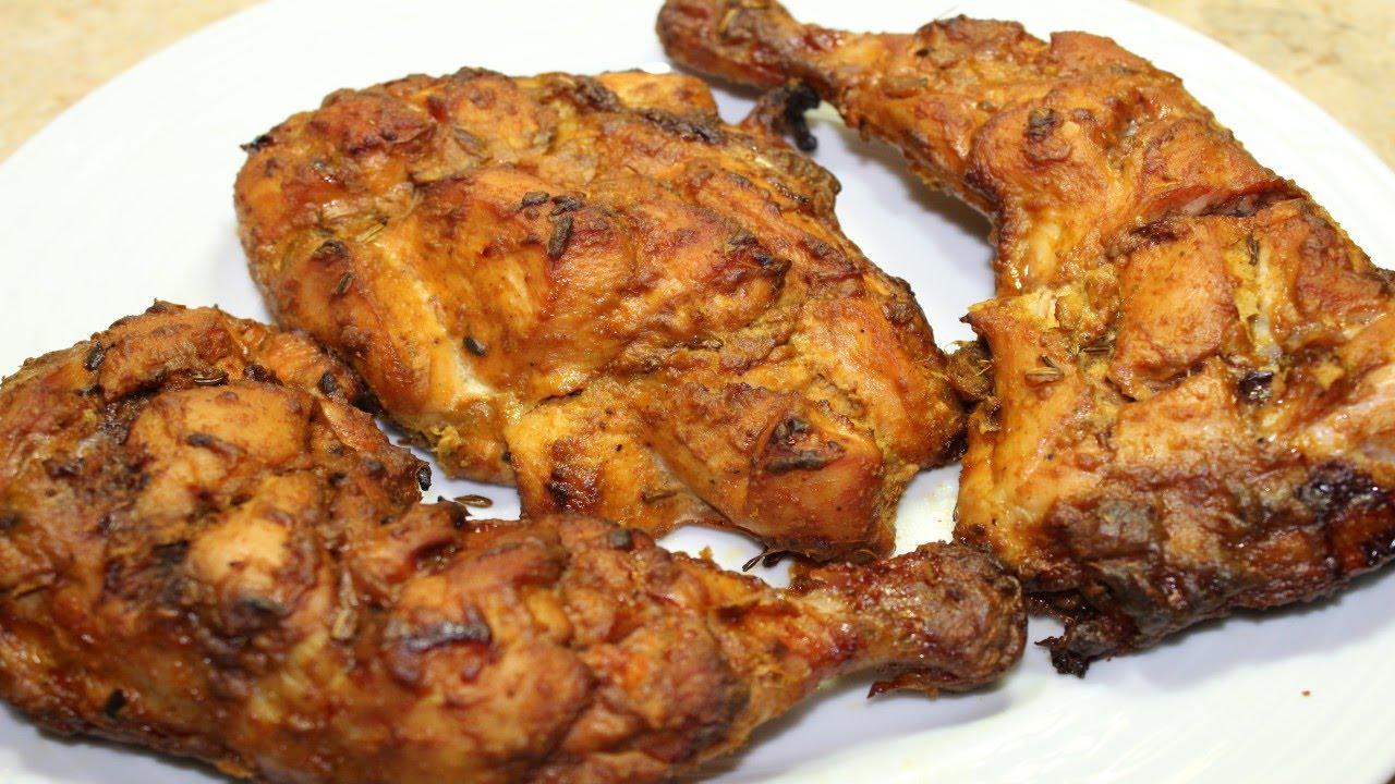 طريقة عمل دجاج تكا المشوي في الفرن بالتتبيلة الأصلية الفراخ التكا Chicken Tikka Youtube