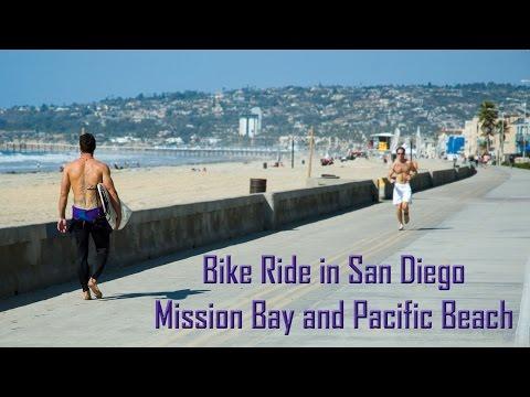 Boardwalk Bike Ride | Mission Bay and Pacific Beach