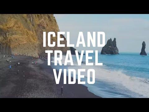 Iceland Travel Video - Iceland Drone - Eldhraun Lava Field, Seljalandsfoss Waterfall, Reynisfjara