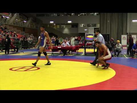 2014 Junior National Championships: 84 kg Nishanpreet Randawa vs. Joban Phulka