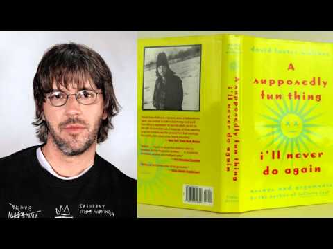 """David Foster Wallace interview on """"A Supposedly Fun Thing"""" on WPR (04/1997)"""