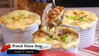Classic French Onion Soup - Easy and Delicious!