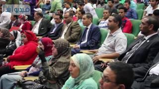 بالفيديو: الأمير حسن بن طلال يلقى محاضرة فى جامعة الأزهر