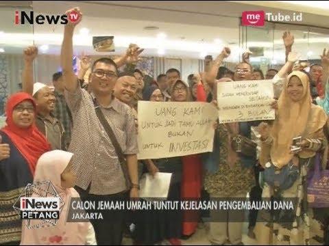 "Serbu! Kantor First Travel di Jakarta di ""Geruduk"" Calon Jamaah Umroh - iNews Petang 01/08"