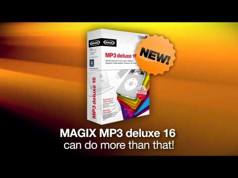 MAGIX MP3 deluxe 16 - Get the most out of your music collection (english)