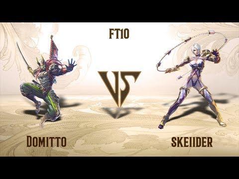 Domitto (Yoshimitsu) VS Skeiider (Ivy) - FT10 (31.08.2019)