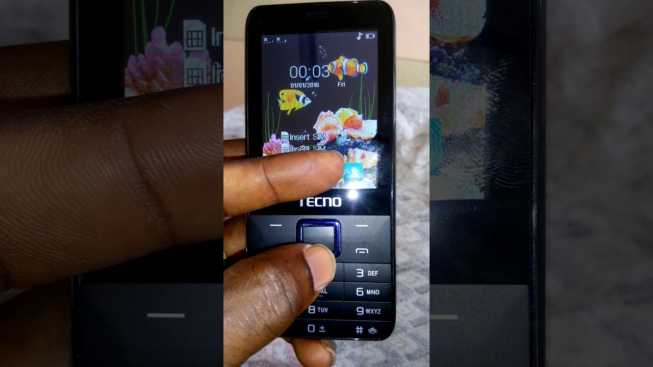 How to remove input password from tecno t472