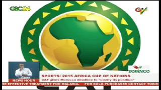 CAF given Morocco a new deadline to decide on AFCON2015
