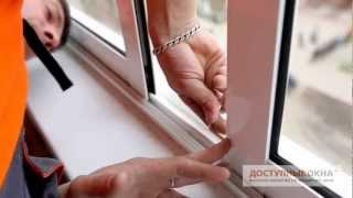 видео Остекление лоджий алюминиевым профилем