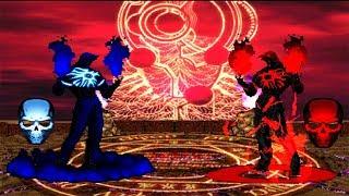 Blue Valmar Rugal VS Red Valmar Rugal [Mirror Battle]