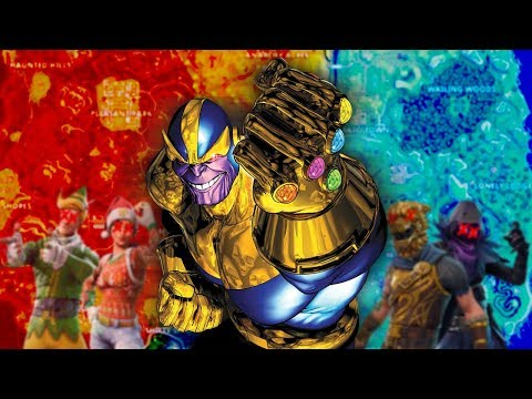 FORTNITE X MARVEL CROSSOVER!! Limited Time Game Mode! Thanos & INFINITY GAUNTLET!